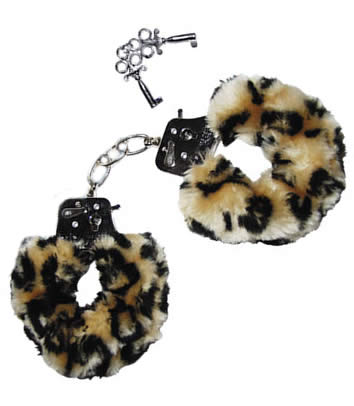 Love Cuffs - Leopard look
