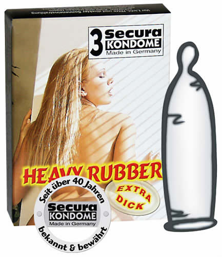 Image of   Heavy-Rubber kondomer 3 stk