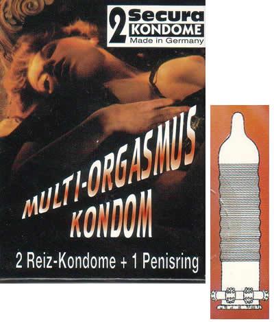 Image of   Secura Multi-Orgasmus-Kondom 21 stk
