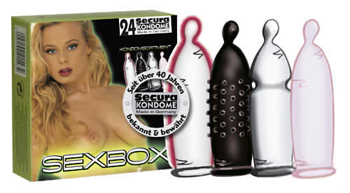 Image of   Secura Sexbox 24 stk