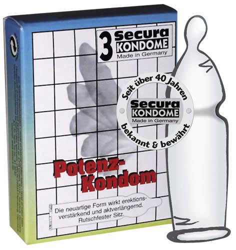 Image of   Secura Potens kondom 3 stk