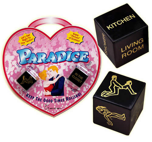 Image of   Paradice Sex-terninger 2 stk