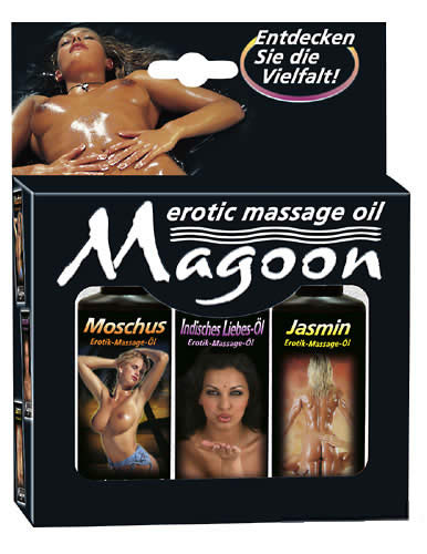 Magoon Massage pakke 3x50 ml