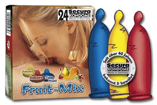 Secura Fruit Mix 24 stk