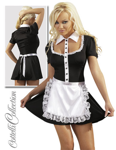 Stuepigekjole - French Maid X-Large