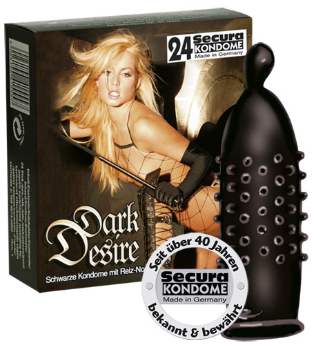 Image of   Secura Dark Desire 24 stk