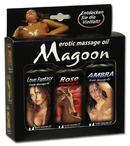 Magoon Massageolie sæt - 3 x 100 ml