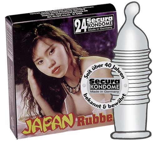 Secura Japan Rubber 24 stk