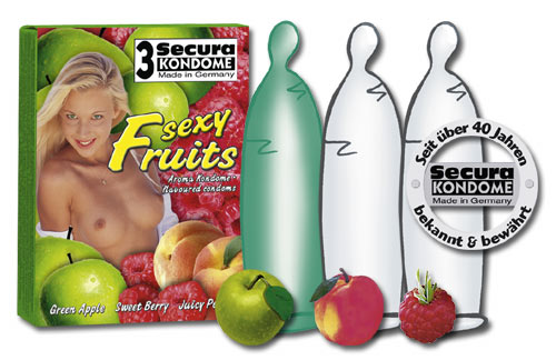 Image of   Secura Sexy Fruits 24 stk