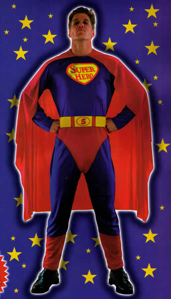 Super Hero - One Size