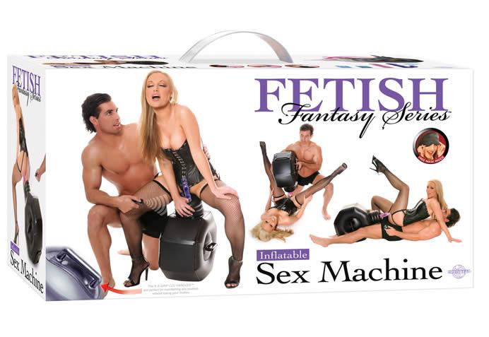 Oppustelig SexMaskine - Fetish Fantasy