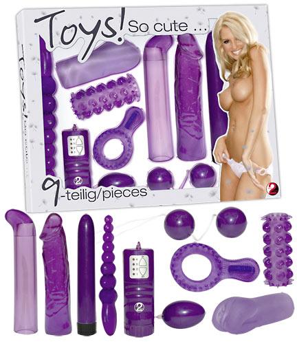Toys so cute Vibratorsæt