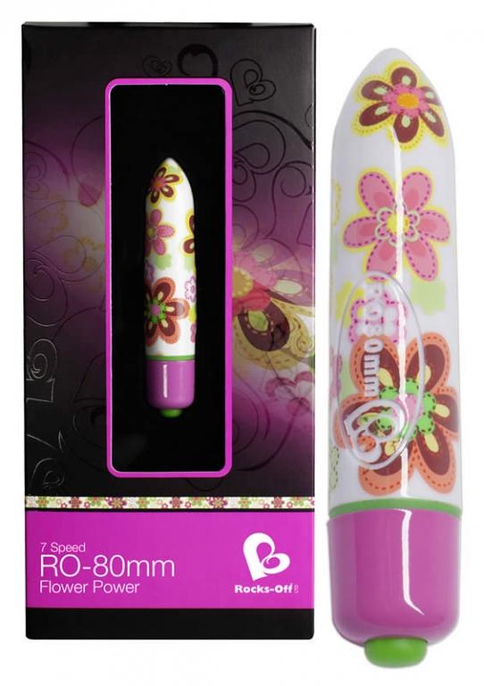 Image of   RO-80 Bullet Vibrator Flower Power