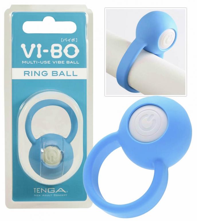 Tenga Vi-Bo Ring Ball - Penisring med Vibrator