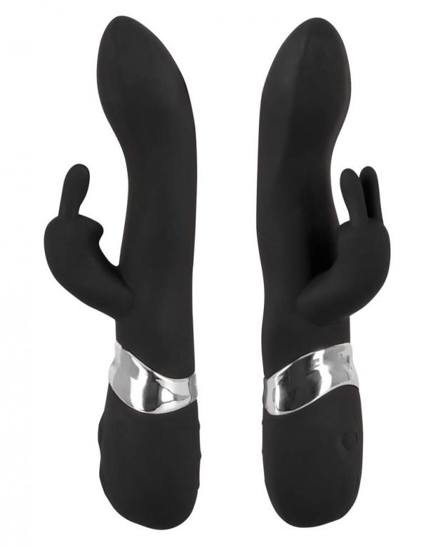 Sweet Smile Blacky Vibrator med Klitorisstimulator